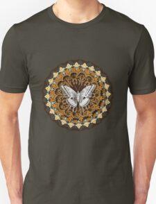 Moth Mandala Unisex T-Shirt