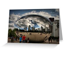 Skyline Bubble Greeting Card