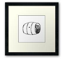 BARREL OF MONKEYS Framed Print