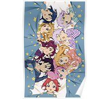 Yuru Yuri Characters Poster