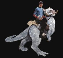 Spock rides the Tantan Kids Tee