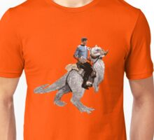 Spock rides the Tantan Unisex T-Shirt