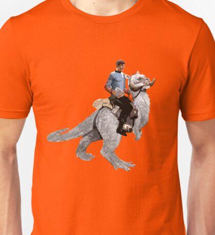 Spock rides the Tantan Unisex T-Shirt