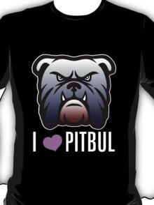 i love pitbul T-Shirt