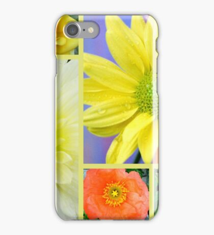 Yellow Flower Collage iPhone Case/Skin