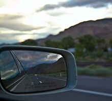 Out Of The Rearview Mirror by Julie Wall