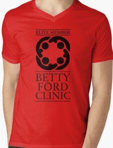 BETTY FORD CLINIC - ELITE MEMBER Mens V-Neck T-Shirt