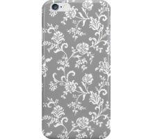 Antique Vintage Floral Leaf Pattern iPhone Case/Skin