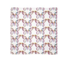 Multi Coloured Butterfly Scarf