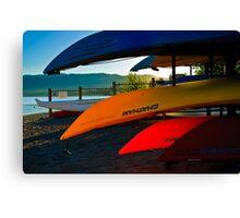 Kayak Tahoe Canvas Print