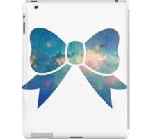 Blue Galaxy Bow iPad Case/Skin