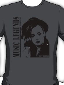 MUSIC LEGENDS - BOY GEORGE T-Shirt