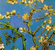 Blossoming Almond Tree by Vincent van Gogh Sticker
