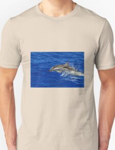Wild free dolphin playing T-Shirt
