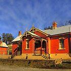 Carcoar NSW ~ Railway Station by Rosalie Dale