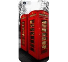 London Box iPhone Case/Skin