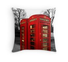 London Box Throw Pillow