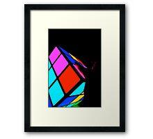 rubix revealing Framed Print