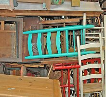 Tables And Chairs. by Bob  Wentzel