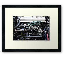 Jensen Engine Framed Print