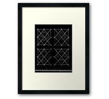 HOLOGRAM SAK YANT 4 UP Framed Print