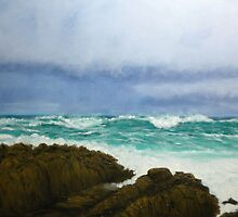 Storm at Cypress Point by Kindra Ericksen