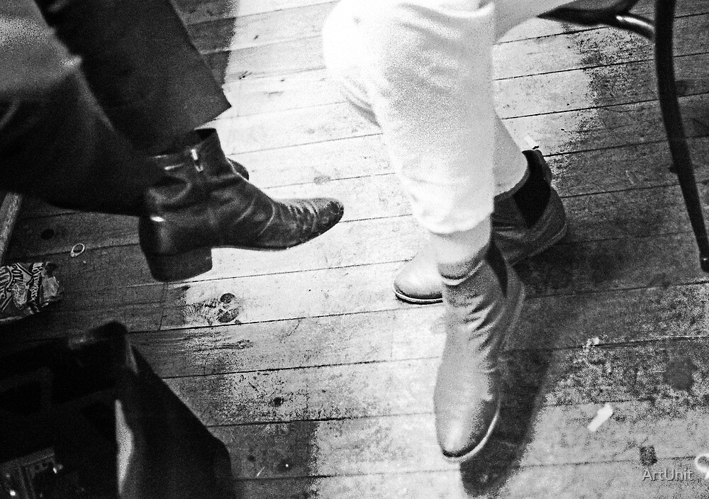 Boots backstage by ArtUnit