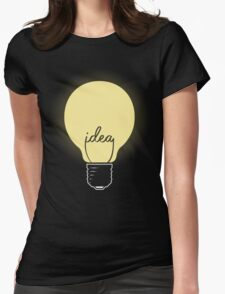 Idea! Womens Fitted T-Shirt