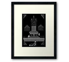 GIANT MATRIX HOLOGRAM Framed Print
