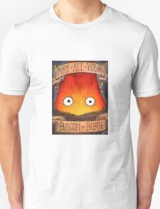 Studio Ghilbi Illustration: CALCIFER #3 T-Shirt