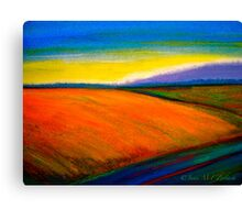 Landscape...Out in the Country Canvas Print