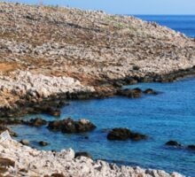 Halki coastline Sticker