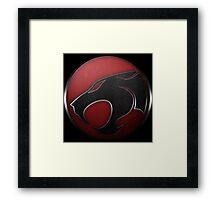 THUNDERCATS - Superhero Logo Framed Print