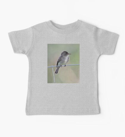 Tropical Pewee on Wire Baby Tee