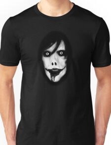 Jeff the Killer - Black and White Unisex T-Shirt