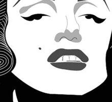 Marilyn Monroe Vector Sticker
