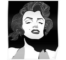 Marilyn Monroe Vector Poster