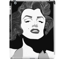 Marilyn Monroe Vector iPad Case/Skin