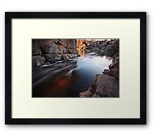 """Down under the Bridge"" Framed Print"