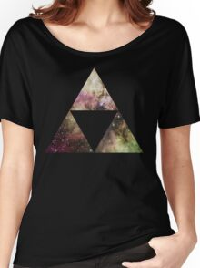 Triforce Galaxy  Women's Relaxed Fit T-Shirt