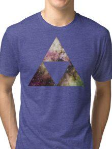 Triforce Galaxy  Tri-blend T-Shirt