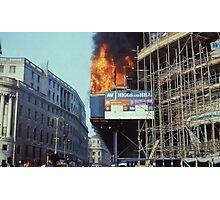 Poll Tax Riots, London 1990 Photographic Print
