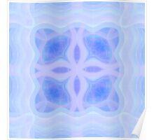Pastel Cold Fleur Poster
