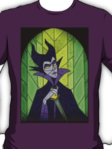 Evil fairy?! - stained glass villains T-Shirt