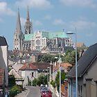 La Cathédrale Notre-Dame de Chartres by Peter Reid