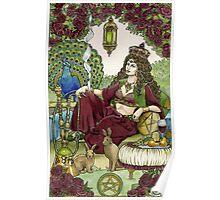 Queen of Pentacles Poster