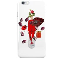 Resort 2011 Givenchy Red Suit iPhone Case/Skin