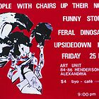 People with Chairs up their Noses poster  by ArtUnit