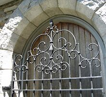 Gorgeous Wrought Iron Door, Plainfield, CT by Debbie Robbins