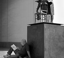 Reading in Seville by Phil  Crean